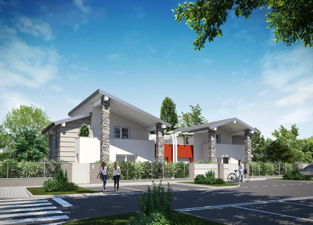 Villa Abbinata in vendita Reggio Emilia SABBIONE